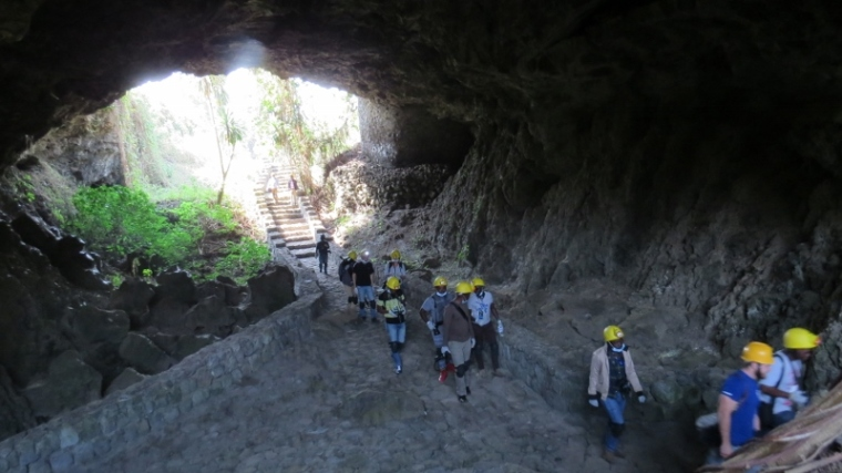 Musanze caves near Virunga National Park in Rwanda.